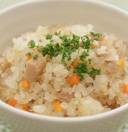 洋風 炊き込み ご飯 「コーンとベーコンの洋風炊き込みご飯」